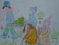 Леонова Мария 12 лет Таловская школа-интернат для детей сирот